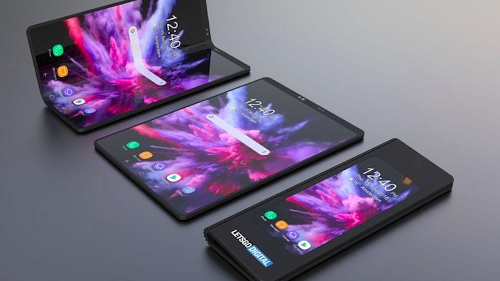 Samsung gelecek yıl dört katlanabilir akıllı telefon modeli üretecek